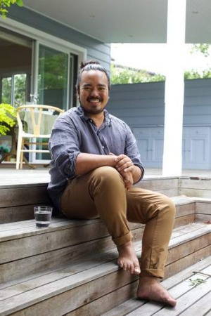 First time dad Adam Liaw is hosting Christmas for the first time this year.