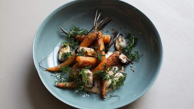 Go-to dish: Carrot, mussels.