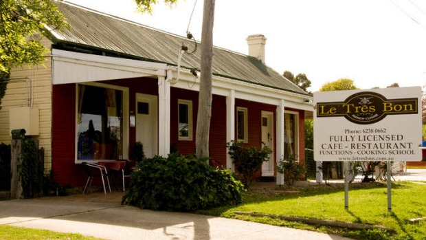 Le Tres Bon in Bungendore is open most days, closed only on Christmas Day and Boxing Day.