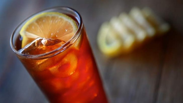 Iced lemon tea is the perfect, refreshing pick-me-up.