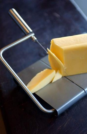 Treat cheese as an ingredient, not as a condiment.