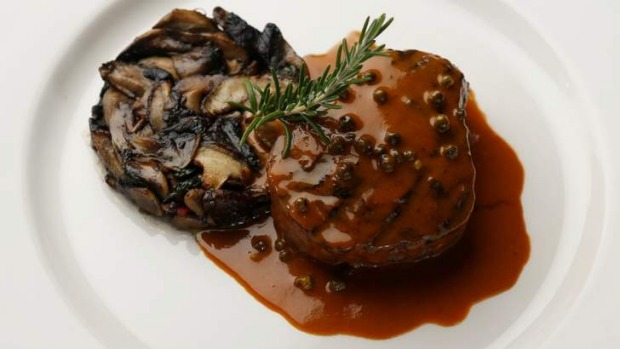 Classic: Jimmy Watson's chargrilled eye fillet.