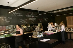 Cafe Vue at Heide Museum of Modern Art, Bulleen.