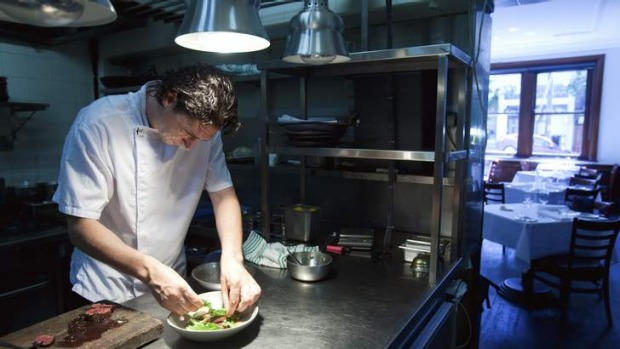 Unchanged: Four in Hand chef Collin Fassnidge will renovating his kitchen.