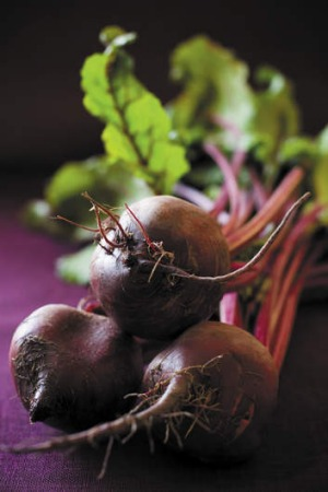 Glove-up: Try preparing beetroot with hand protection.