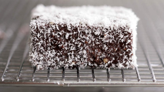The humble lamington.