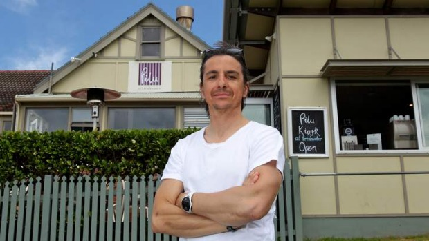 In hot water: Giovanni Pilu, owner of Pilu restaurant and cafe at Freshwater.