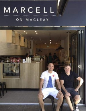 New kids on the block: Marcelle on Macleay Street, Potts Point.