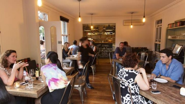 Warm and unassuming: Darlinghurst's Sagra.