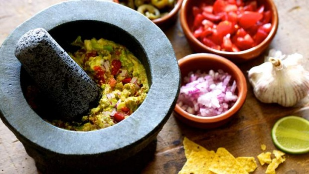 It doesn't come fresher: DIY guacamole.