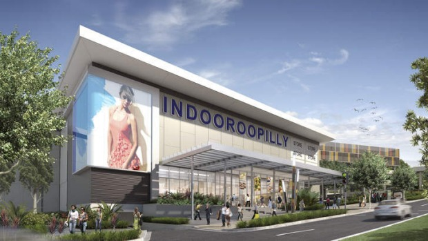 An artist's impression of the Indooroopilly Shopping Centre redevelopment.