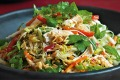 Vietnamese chicken and noodle salad.