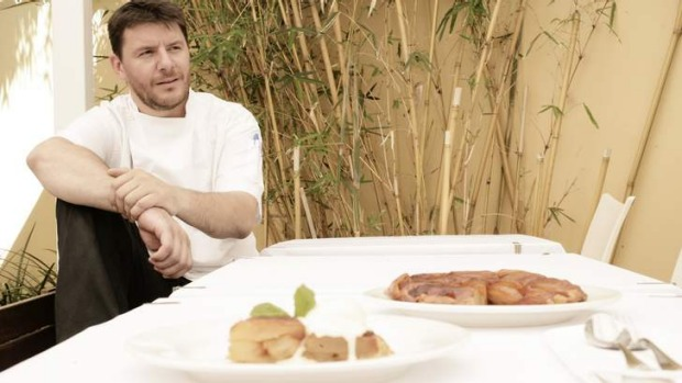No-one home: Manu Feildel's L'etoile hasn't re-opened its doors.