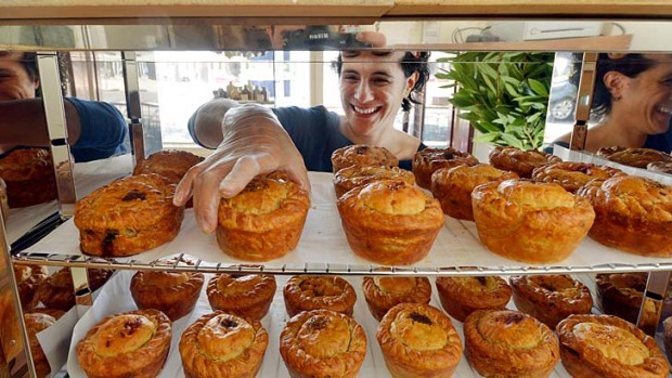 In addition to numerous shops, Holly Carthew's Pure Pies will be on sale at Saturday's Flour Market.
