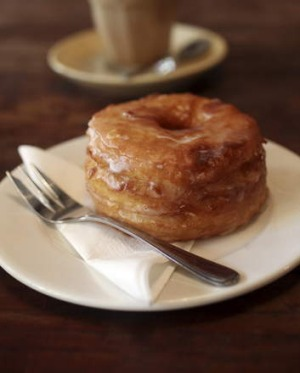 Cronuts are baked daily.