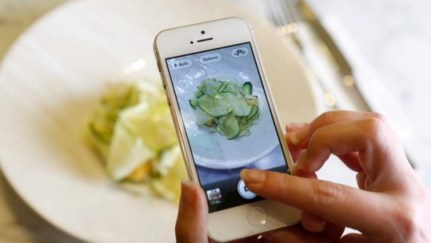 Plate perspective: Taking snaps of your food can make it taste better - but it may not impress other diners.