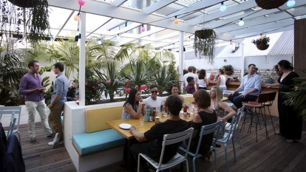 Vibrant: SoCal's beachy feel is complemented by the zippy fare on offer.