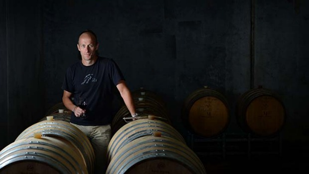 Adrian Lockhart's Hungerford Hill winery is benefiting from a rise in overseas visitors.