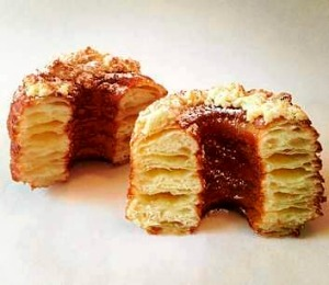 Evil, but good: The cronut as created by Dominique Ansel.