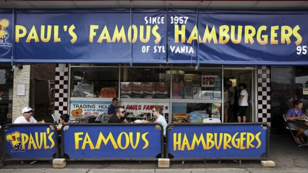 Here forever: The hamburgers are famous for good reason.