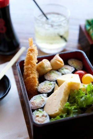 The kids' bento box at Umi Sushi & Udon, winner of Best Family Friendly.