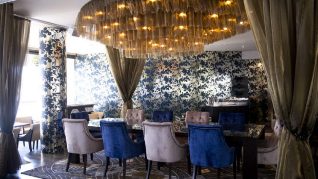 Opulent ... The fit out takes inspiration from the 1920s.