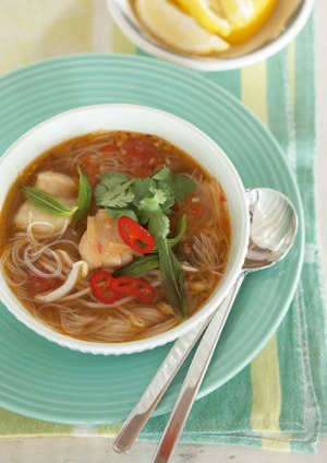 Vietnamese Fish And Noodle Soup Recipe Good Food