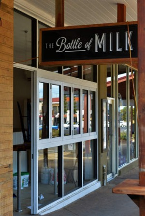 The Bottle of Milk restaurant in Torquay.