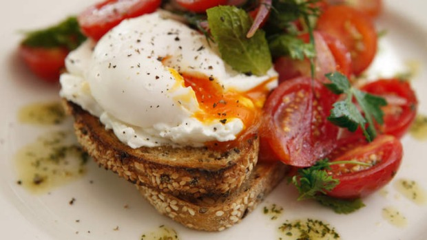 'Perfectly poached eggs' usually means still a little runny. But is it safer to go with well-cooked eggs?