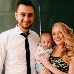 Shari Wakefield, pictured with her husband and son, began her food blog before <i> MasterChef</i> started the Australian ...