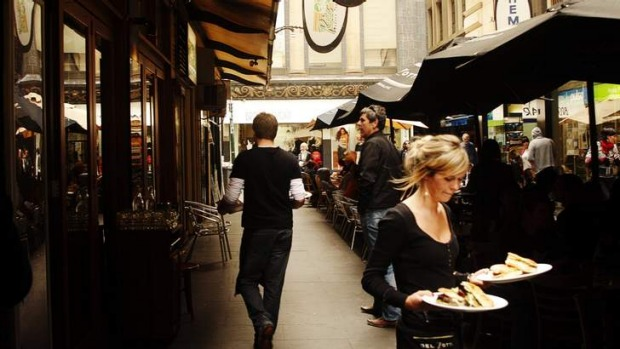 Australians eat out at cafes more than at any other type of dining establishment.