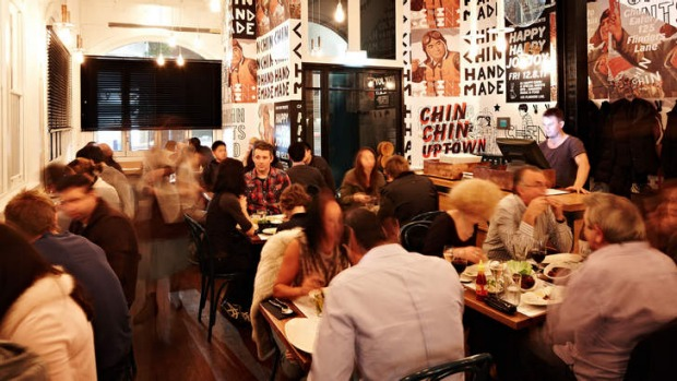 Generous diners: Chin Chin topped the list in 2012 and featured in the 2013 top ten.