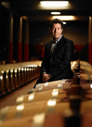Red alert: Penfolds chief winemaker Peter Gago calls 389 '<i>the</i> bin wine of Penfolds'.