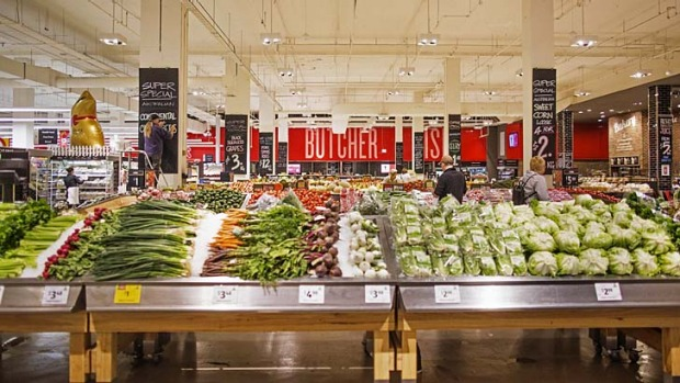"""Concept"" stores: Lighting and layouts have been given a revamp in Australian supermarkets."