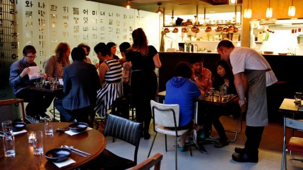 Top little spot: Kim has two chefs, one tiny kitchen and a handful of tables in a laneway.