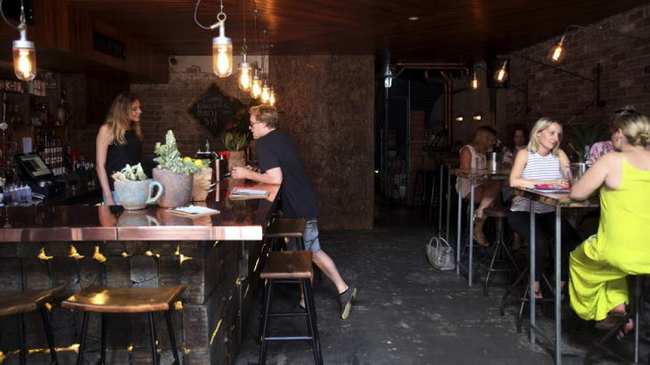 Donny's Bar: The vibe is intimate and buzzy and the fitout is beautiful.