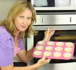 Gone global ... Former flight attendant Elise Strachan runs the third most popular baking channel on YouTube.