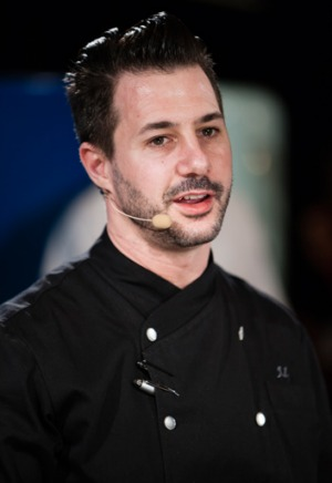 Iuzzini during his MasterClass for the Melbourne Food & Wine Festival.