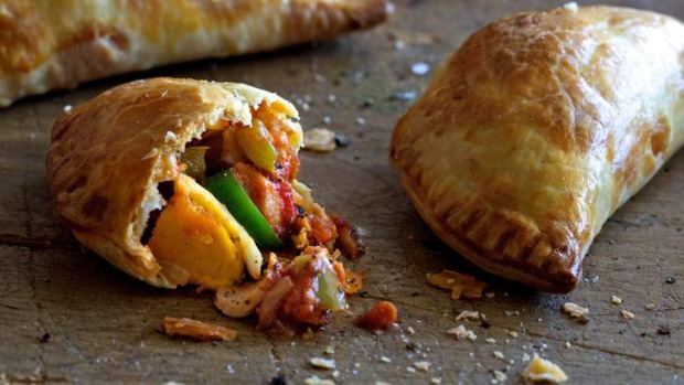 Tuna, olive and egg empanadas; great for a picnic or to get a party started.