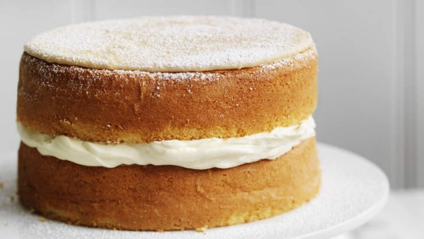Neil Perry's simple sponge cake.
