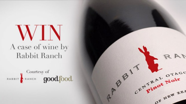 Up for grabs ... Be in the running to win a case of Rabbit Ranch wine.
