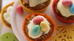 Carrot cakes for the Easter Bunny.
