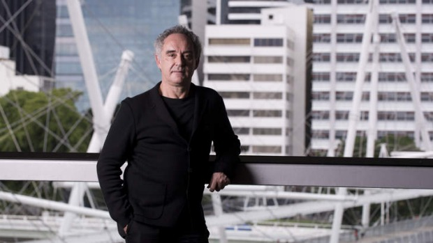 Got a question for Ferran Adria? Jump on the comments and leave one here.