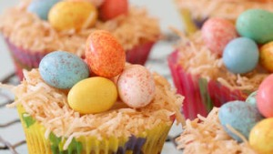 Easter nests.