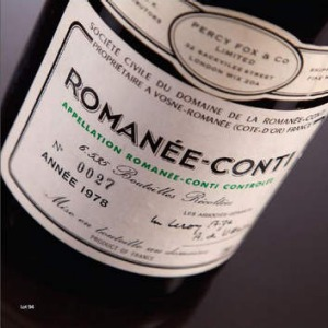 A once-in-a-lifetime indulgence ... The 1978 Romanee-Conti.