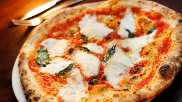 Flavour packed ... The margherita pizza at 400 Gradi in Brunswick.