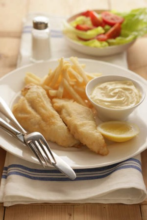 Flathead Fillets With Tempura Batter Recipe Good Food