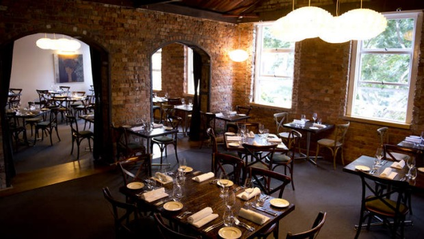 Malt Dining is housed in an elegant attic space.