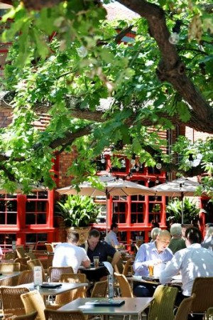 Eat, drink, be merry: The Oaks in Neutral Bay.
