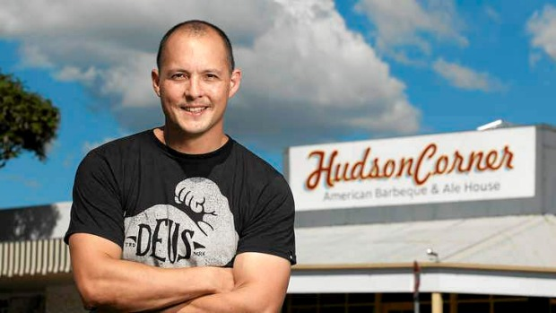 Albion's Hudson Corner American Barbecue and Ale owner Matt Lim.